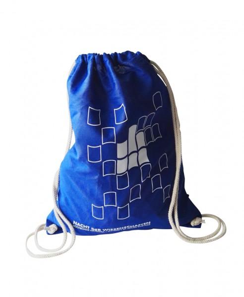 Baumwollrucksack blau
